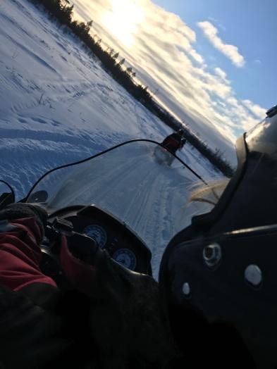 Tag 1: Schneemobil Beifahrer
