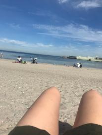 Ein Vormittag am Strand